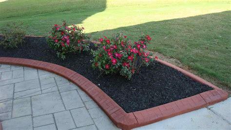 Landscape Edging Rubber Depot Resin Panel Garden Landscaping Edging Rubber Border