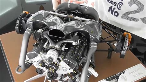koenigsegg one 1 engine koenigsegg one 1 engine detailed view 1 6 scale by