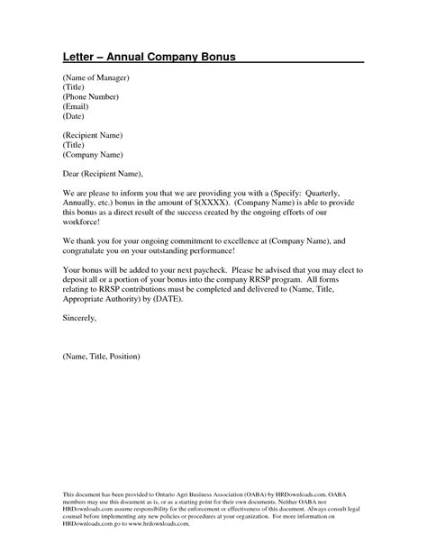 format cv binus sle letter of bonus to employee image collections
