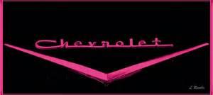 pink chevrolet emblem america cars part b