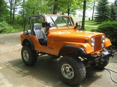 orange jeep cj bright orange jeep cj 5 jeep cj 5 1954 1983