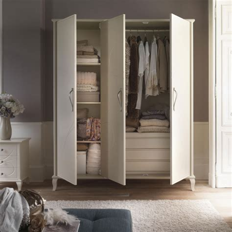 cassettiera da armadio armadio 3 ante con cassettiera