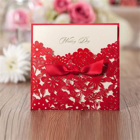 free wedding card sles 2017 personalized print wedding invitations cards