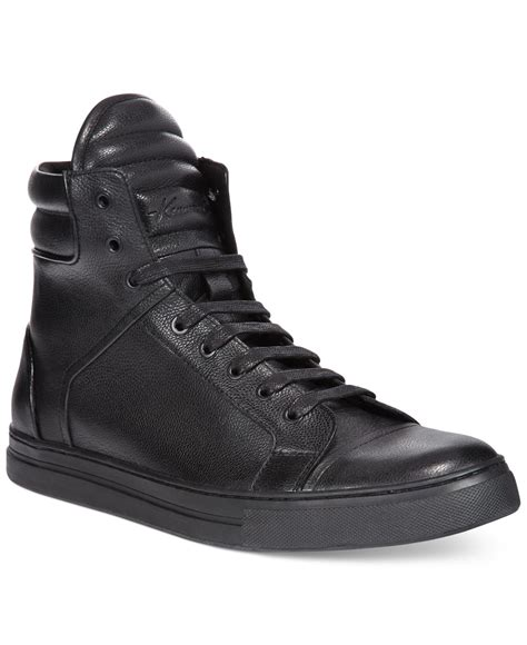 kenneth cole high top sneakers kenneth cole header high top sneakers in brown for
