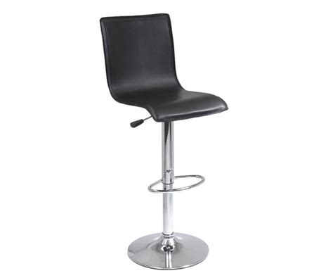 Airlift Bar Stool by Winsome Wood 93145 High Back Shape Air Lift Bar Stool