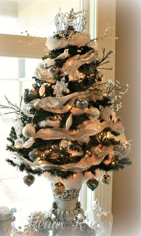 17 best images about elegant tabletop christmas trees on