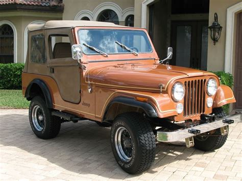 Jeep Cj For Sale By Owner 1980 Jeep Cj 5 Classic Car Sale By Owner In Denver Co 80294