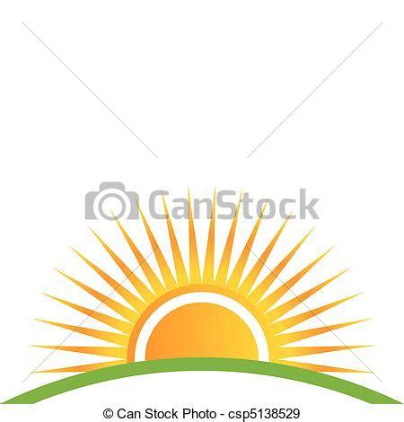 sunset horizon eps vectors search clip art, illustration
