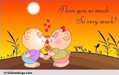 love        kiss ecards
