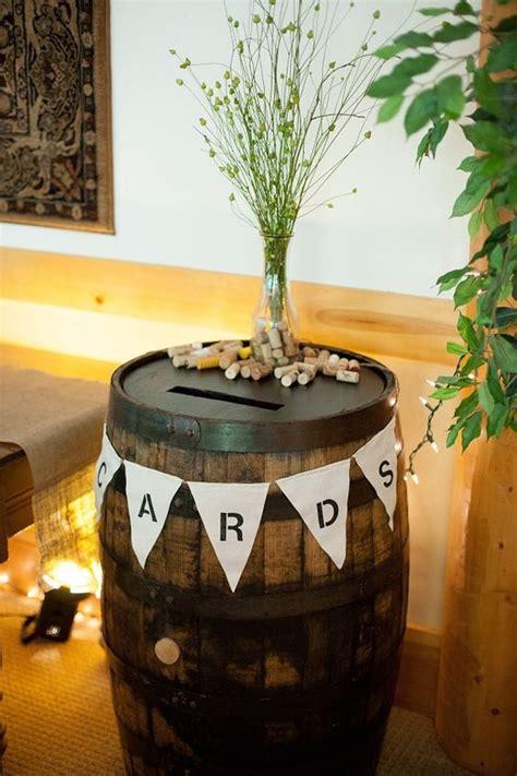 barrels wine barrels and cards on