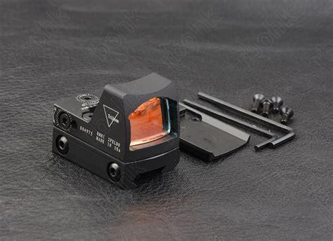 New Rmr Mini Tactical Sight With Rail And Glock Mount ᗛ shooting mini ᗐ rmr rmr style 1x dot sight ᐂ