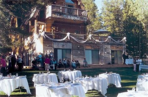 Wedding Venues Tahoe by Tahoe Forest Weddings Venue South Lake Tahoe Ca