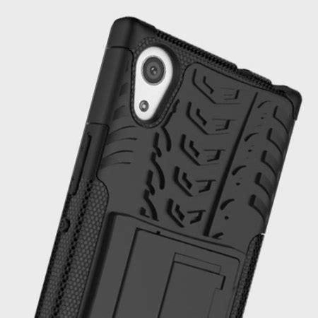 olixar armourdillo sony xperia l1 protective case black
