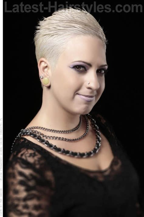 ppictures pf extreme short haircuts 39 short hairstyles for round faces you can rock