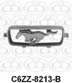 sell ford mustang pony emblem grill c7zz 8213 a nos 1967 67 chrome original oem motorcycle in ford emblems ornaments 57 72 car list cg ford parts