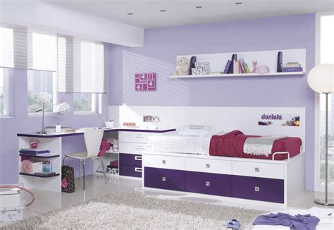 girls bedroom sets with desk bedroom furniture for teenage girl with white and purple