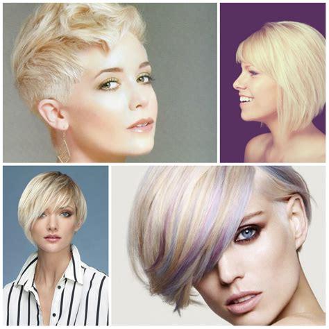 new trendy short hairstyles short hairstyles 2017 2018 latest short hairstyles in blonde hair colors best hair