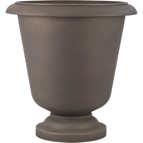 Resin Planter Urns by Smart Resin Aston 23 In Urn Planter Pride Garden Products