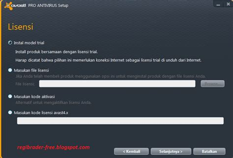 Berapa Anti Virus avast 7 pro antivirus license key mycheat21