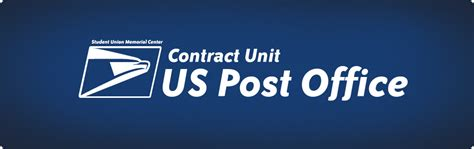 Us Post Office Website by United States Post Office Contract Unit