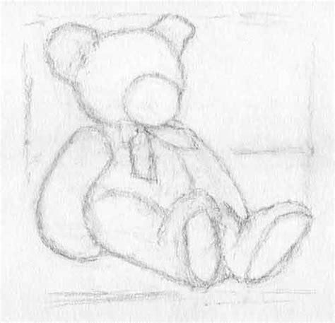 the gallery for gt teddy bear drawings pencil