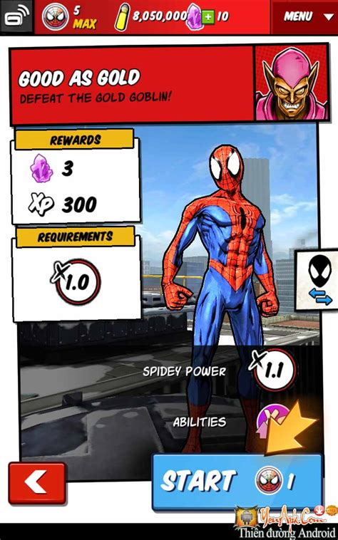 game android offline mod unlimited spider man unlimited hd offline mod cho android
