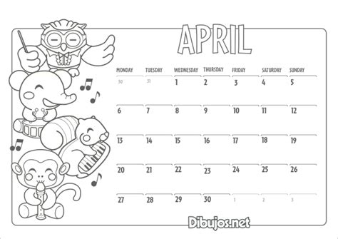 free coloring pages of full 2015 calendar