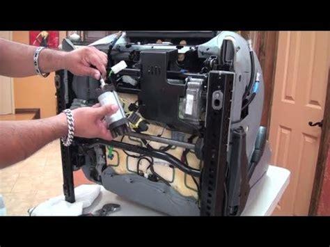 lincoln town car seat motor repair youtube e39 seat twist repair driver seat part 2 youtube