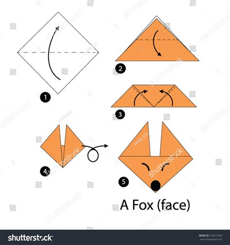 How To Make A Fox Origami - 3d origami fox driverlayer search engine