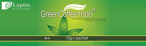 Green Coffee 1000 Original Leptin Green Coffee Kopi Diet american leptin green coffee 1000 for healthy weight loss exclusive seller