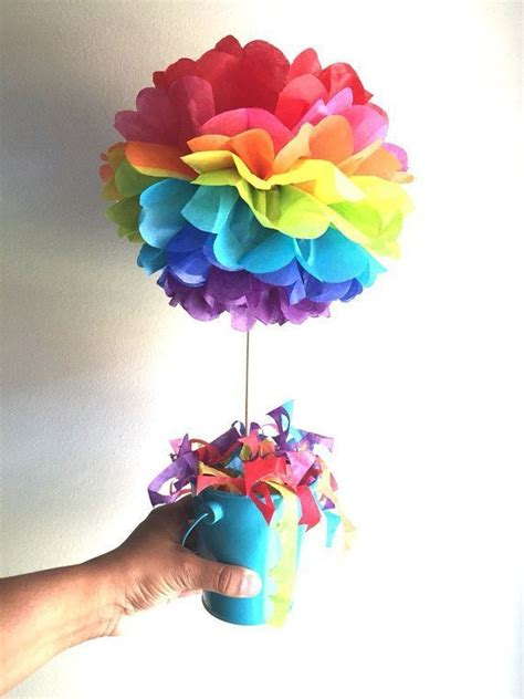 the 25 best ideas about pom pom centerpieces on