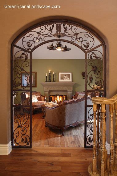 9 modern and beautiful hall arch designs for home styles arched iron scroll doorway dream home pinterest