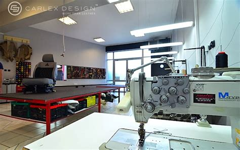 Interior Shops For Cars by Check Out Carlex Design S Upholstery Workshop