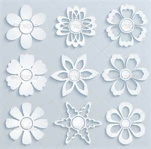 Paper Cut Out Templates Flowers 17 paper flower templates free pdf documents