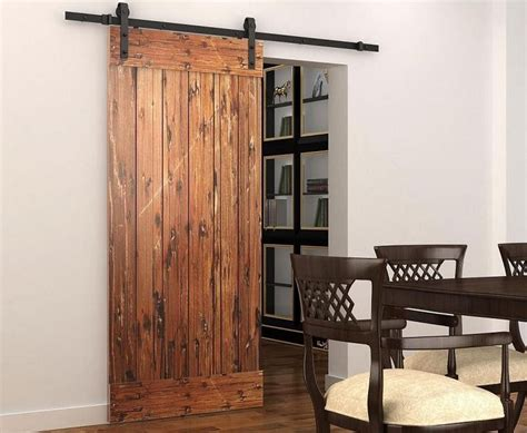 Barn Doors Ebay American Style Sliding Barn Door Hardware Sliding Track Kit Internation Shipping Ebay
