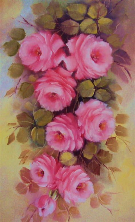 imagenes de uñas pintadas rosa pintando rosas com lourdes silva 2 170 parte youtube