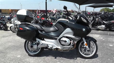 Bmw Motorcycle Youtube by T14403 2009 Bmw R1200rt Used Motorcycles For Sale