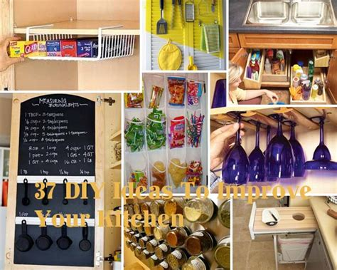 diy kitchen decorating ideas 37 diy hacks and ideas to improve your kitchen amazing