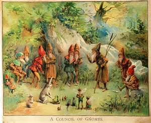 there s a gnome in my home phonetically based poems to engage struggling readers and language learners books domain vintage illustrations of gnomes and fairies