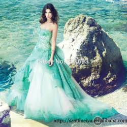 turquoise wedding dresses oumeiya ow118 court lace appliques sweetheart
