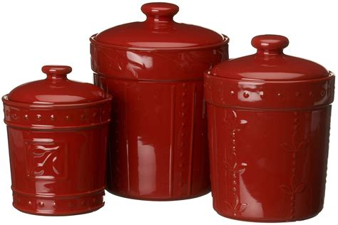 kitchen canister sets red red canisters set storage kitchen containers lids storage