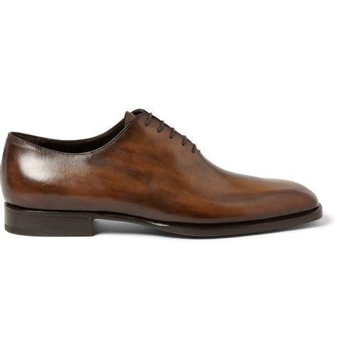 cut shoes for berluti alessandro venezia leather one cut shoes in