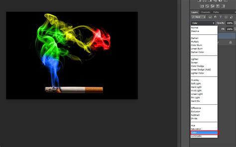 cara edit foto asap warna warni tutorial membuat asap menjadi warna warni photoshop reza r