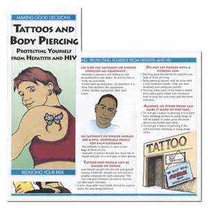 hepatitis from tattoo tattoos and piercing protecting yourself from
