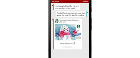 Starbucks Gift Card Text - verizon lets users text message the gift of coffee abc news