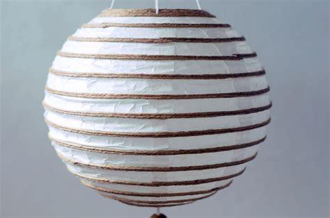 Handmade Paper Lanterns - handmade white handmade paper lantern hanging