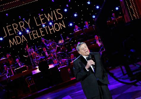 jerry lewis   jerry lewis mda labor day telethon zimbio