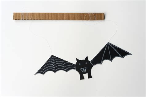 How To Make Paper Bats - links with made by joel felt with