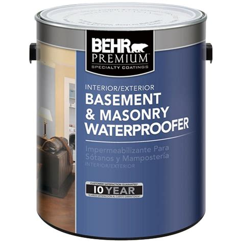 behr premium 1 gal basement and masonry waterproofer