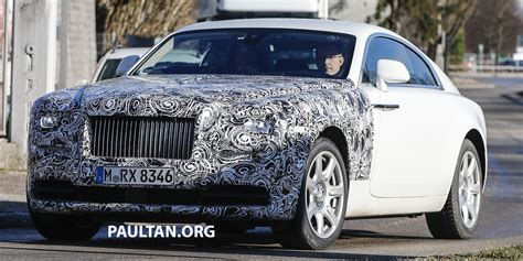 drake rolls royce snow spied rolls royce wraith facelift on land and snow